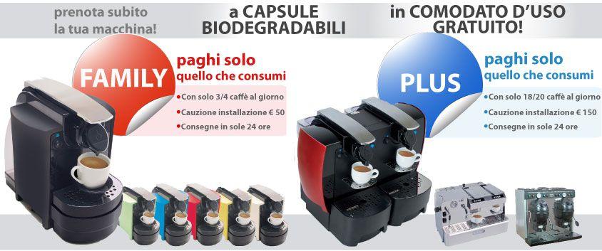 Macchina caff in comodato d 39 uso gratuito con for Comodato d uso casa
