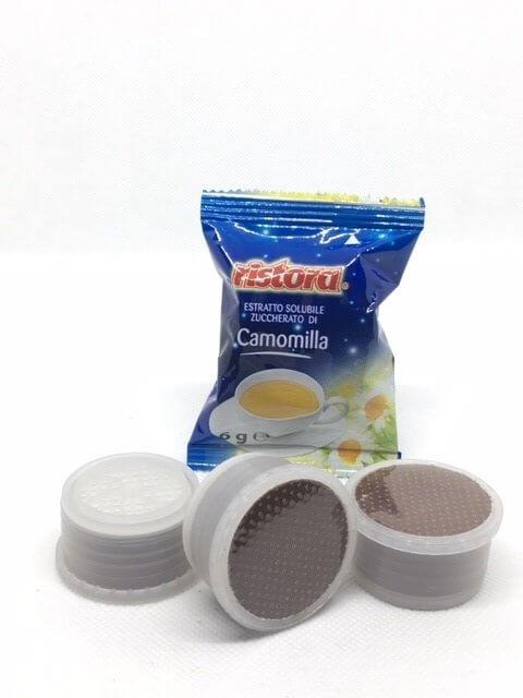 Capsule Camomilla Ristora Compatibile Lavazza