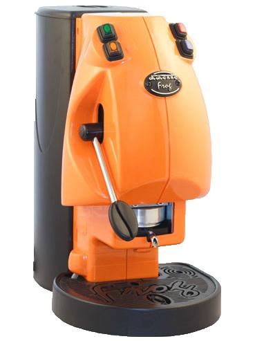 macchina da caff232 didiesse frog arancione