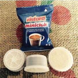 50 Capsule Miniciok Ristora Compatibile Lavazza