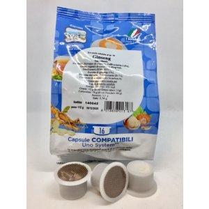 UNO Capsule System Compatibili Caffè al Ginseng