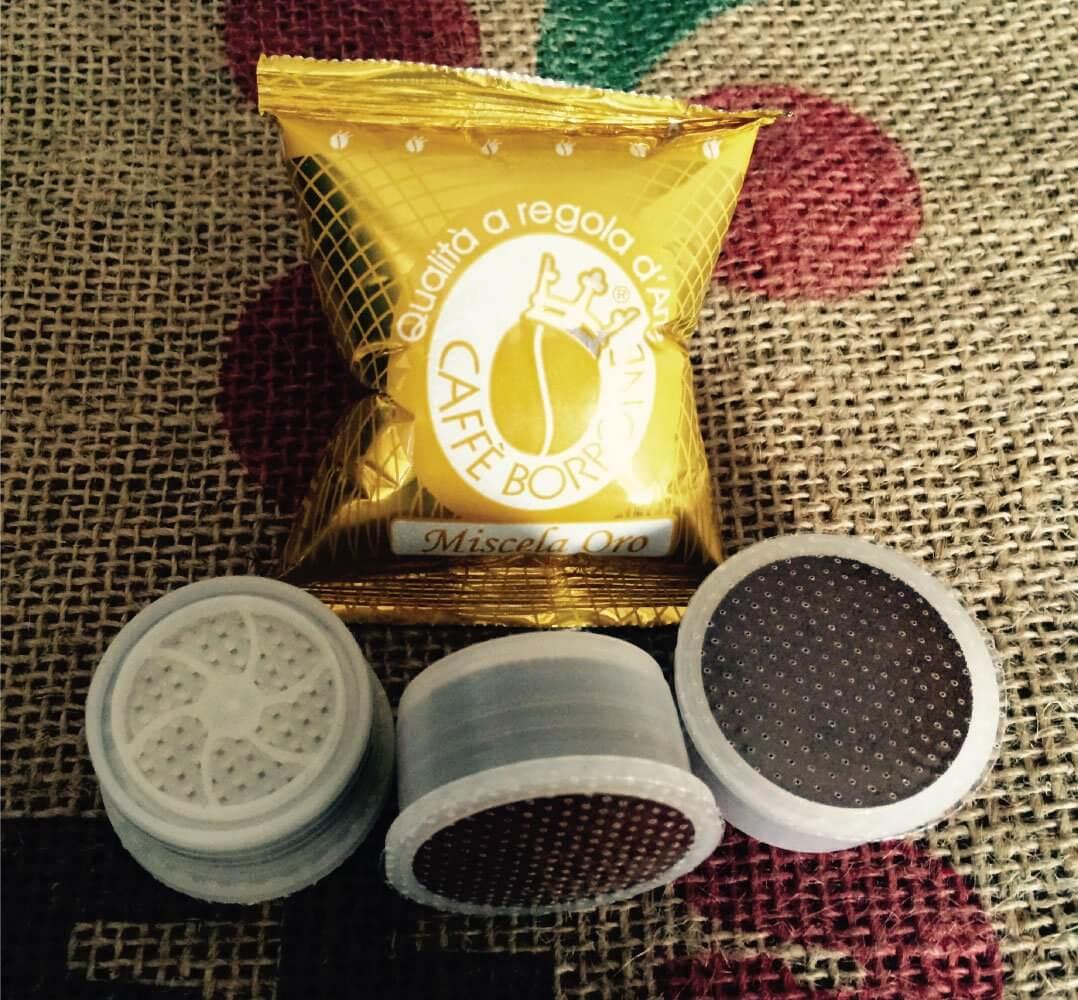 Capsule Borbone Oro