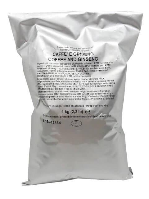 Caffè al Ginseng in Polvere Toro Senza Glutine