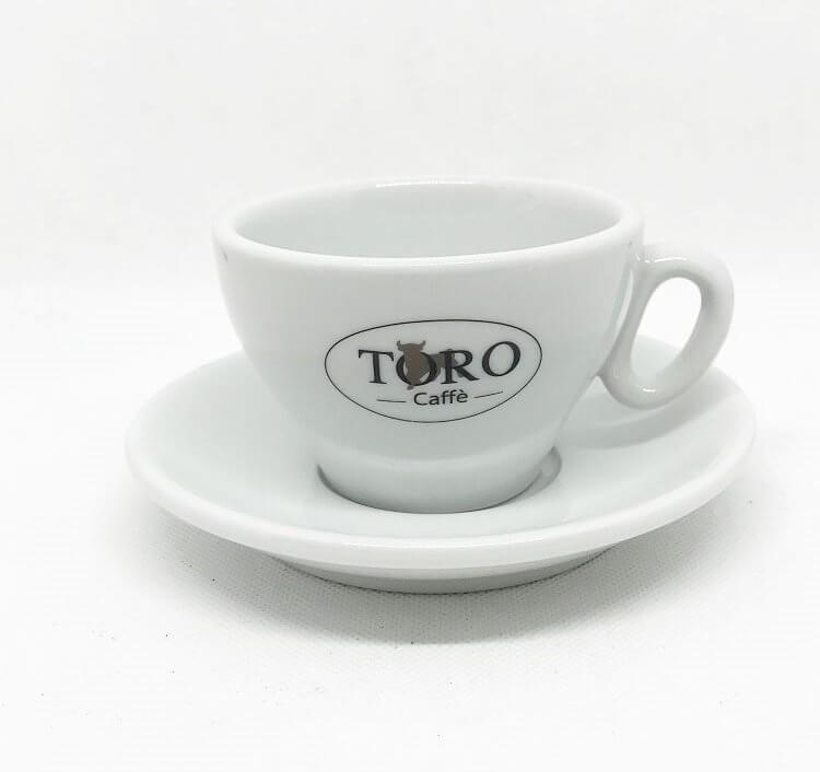 Set Tazza da Cappuccino Toro in Porcellana