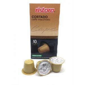 Capsule Compatibili Nespresso Cortado Ristora