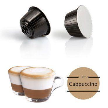 16 Capsule Dolce Gusto Compatibili Nescafè Cappuccino