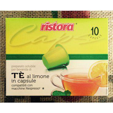 Capsule The Nespresso al Limone Compatibili
