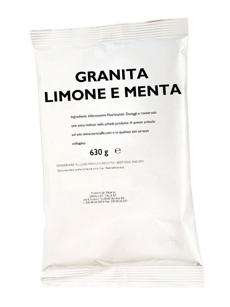Granita al Limone e Menta Toro Senza Glutine