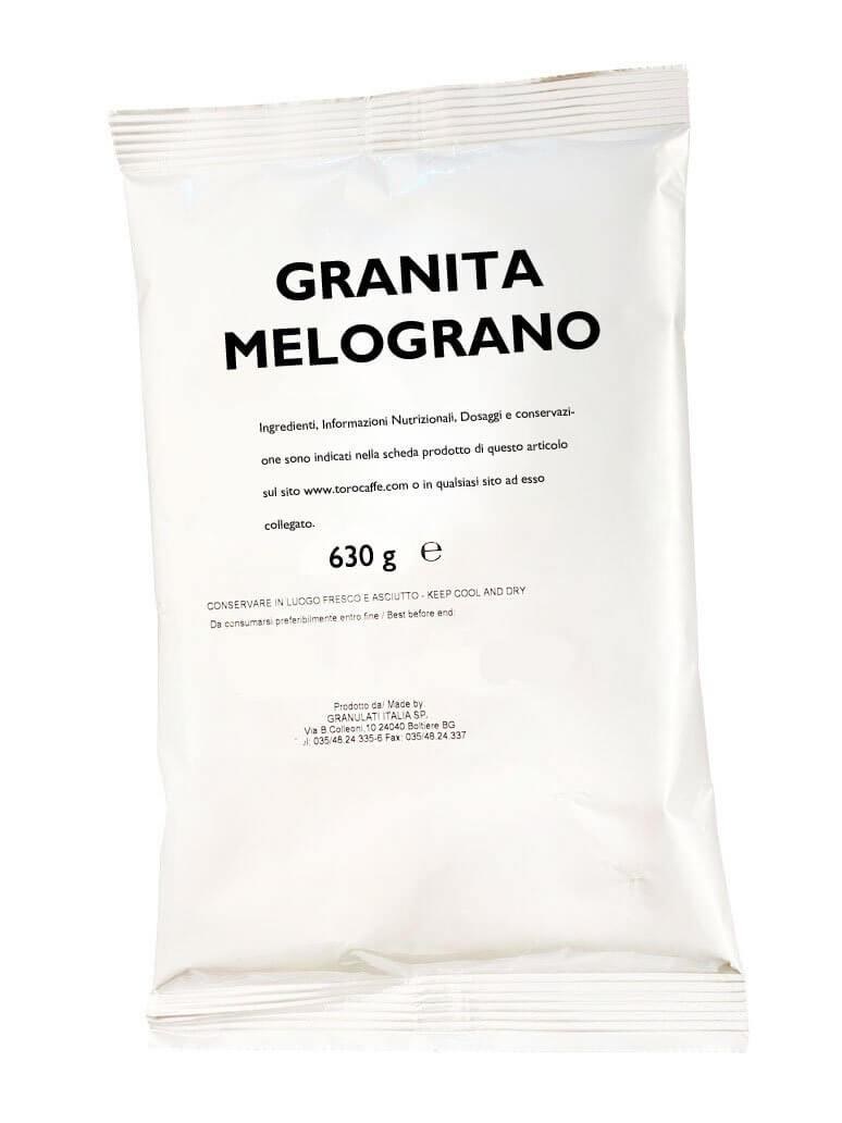 Granita al Melograno Toro Senza Glutine