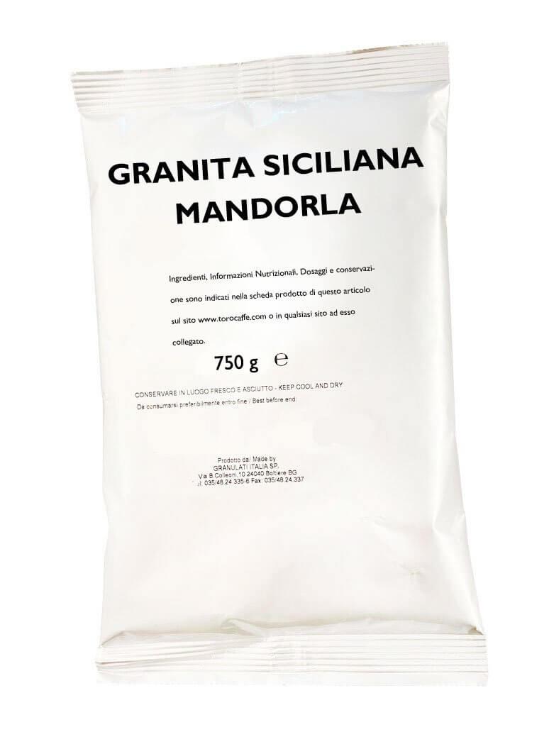 Granita Siciliana alla Mandorla Toro Senza Glutine