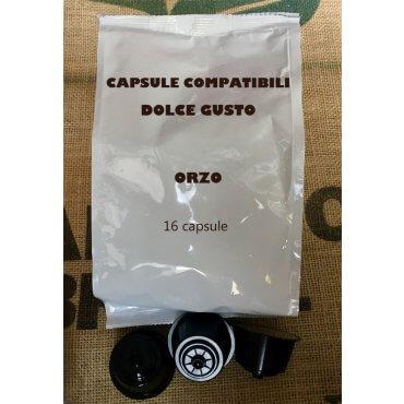 Capsule Dolce Gusto Compatibili Nescafè caffè d'orzo