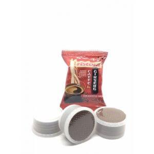 50 Capsule Ginseng Ristora Compatibile Lavazza