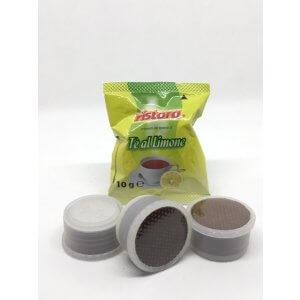 50 Capsule The Limone Ristora Compatibile Lavazza