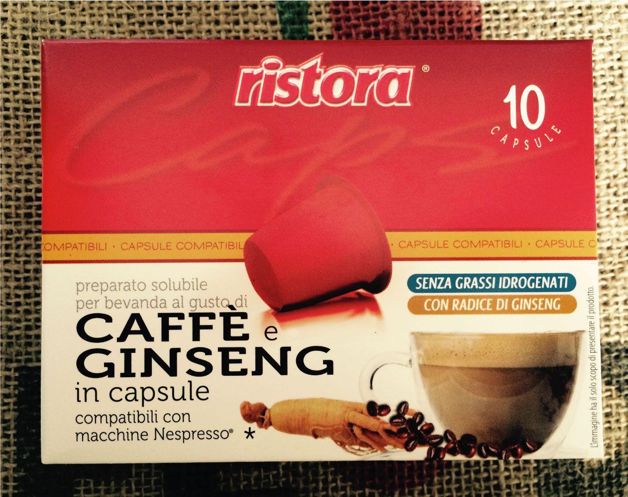 capsule compatibili Nespresso Ginseng